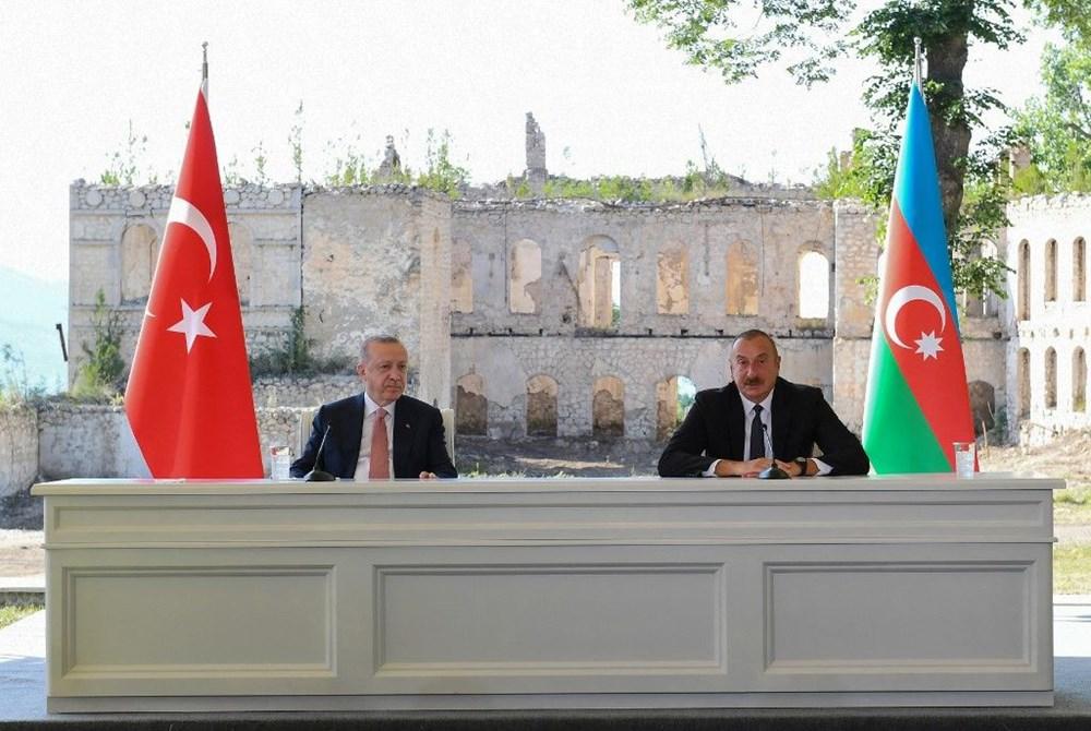 Cumhurbaşkanı Erdoğan ve Aliyev Şuşa Beyannamesi'ni imzaladı - 18