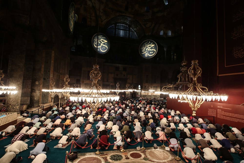 In Hagia Sophia, the crowd does not decrease - 7