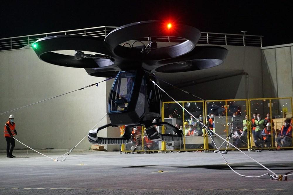 Türkiye'nin ilk uçan arabası CEZERİ ilk uçuşunu tamamladı - 9