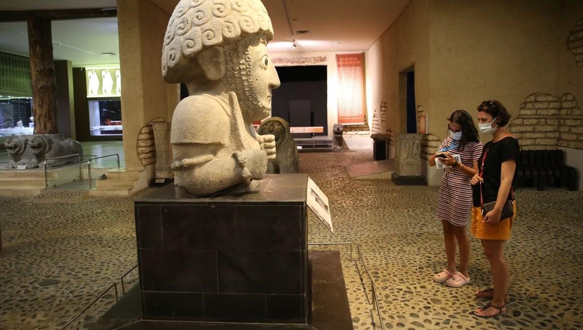 Hatay'ın müze ve ören yerlerine 140 bin ziyaretçi
