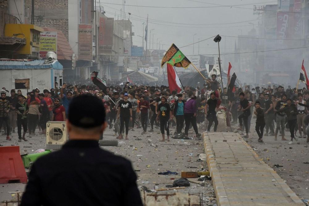 Irak Zikar'da gösterileri hedef alan saldırıda 3 protestocu öldü, 70 kişi yaralandı - 3