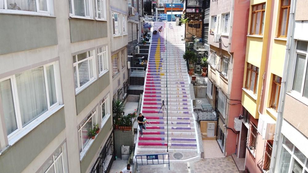 Merdivenler renkleniyor - 4