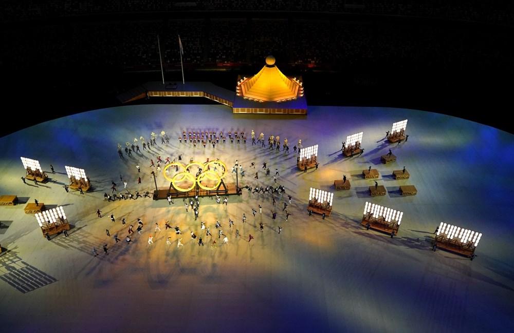 2020 Tokyo Olimpiyatları görkemli açılış töreniyle başladı - 36