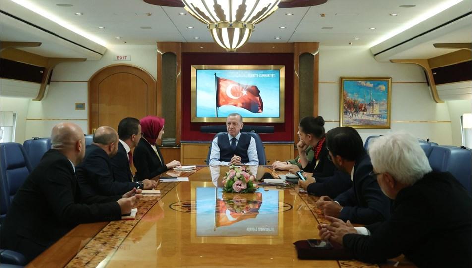 Cumhurbaşkanı Erdoğan'dan 'parlamenter sisteme dönüş yok' mesajı