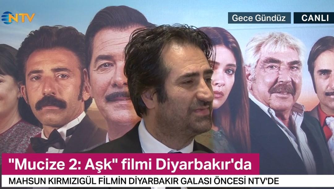 Mahsun Kırmızıgül Mucize 2: Aşk filmini NTV'ye anlattı