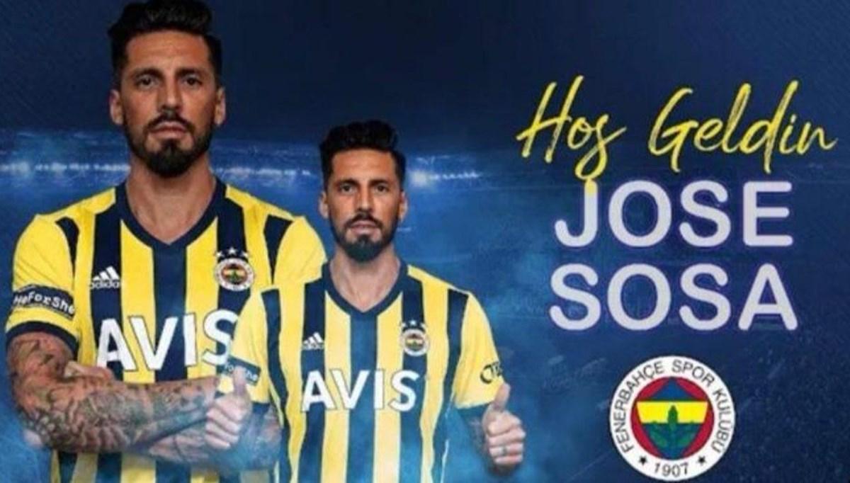 SON DAKİKA HABERİ: Fenerbahçe, Jose Sosa transferini açıkladı