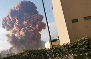 Beyrut limanında çok şiddetli patlama: 78 can kaybı, 4 bine yakın yaralı