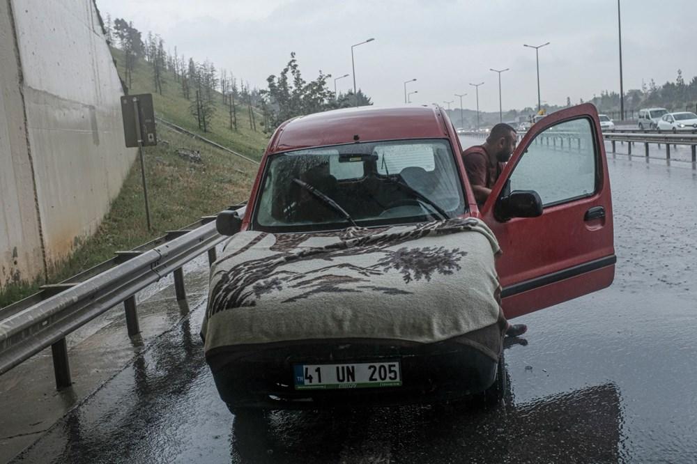 İstanbul'da şiddetli yağış ve dolu - 4